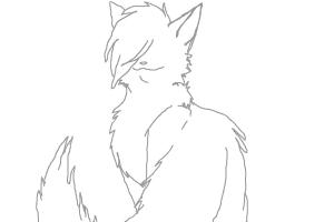 Warrior cats LineART (Free)