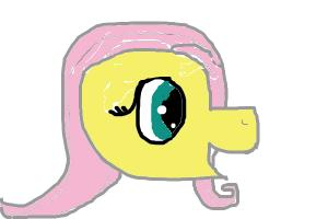 world's crappiest fluttershy