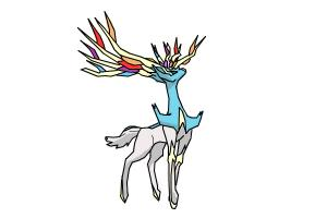 Xerneas from Pokemon X