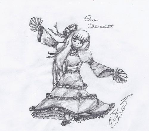 Anime girl(own)