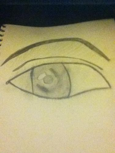 realistic eye attempt