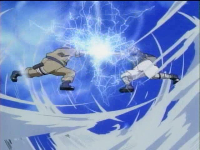 rasengan vs chidori - picture by ludger