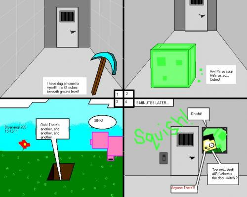 how to draw minecraft pictures