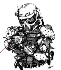How To Draw S W A T Officer Picture By Cr0055fir3