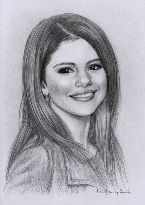 Selena Gomez Sketch Picture By Cuteeprincess321 Drawingnow