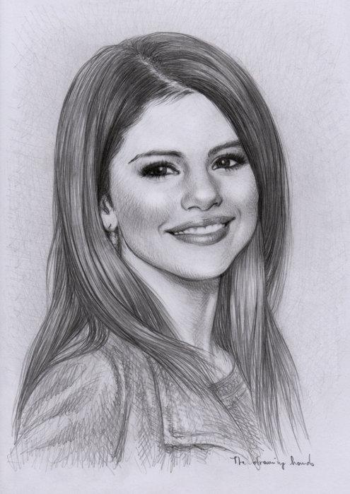 Selena gomez sketch picture by cuteeprincess321 drawingnow - Selena gomez dessin ...