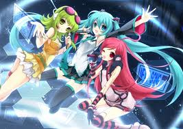 Miki,Miku, and Gumi