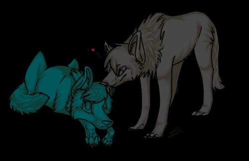Wolf couple o3o