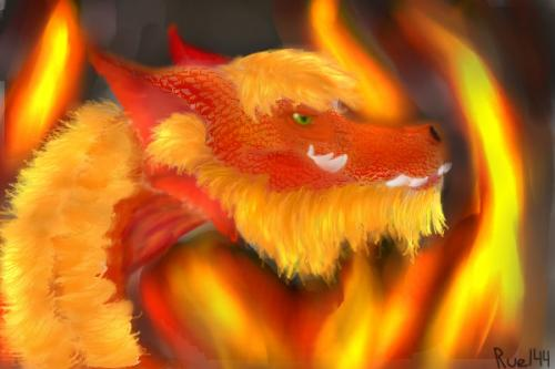 Dragon de Fur