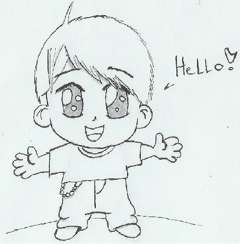 Chibi Boy Picture By Kakashi Hatake Drawingnow How To Draw A Chibi Boy