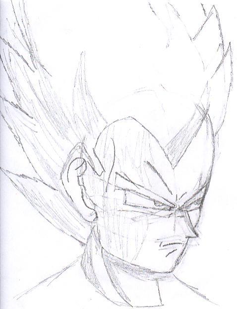 Dragonball Z Drawing