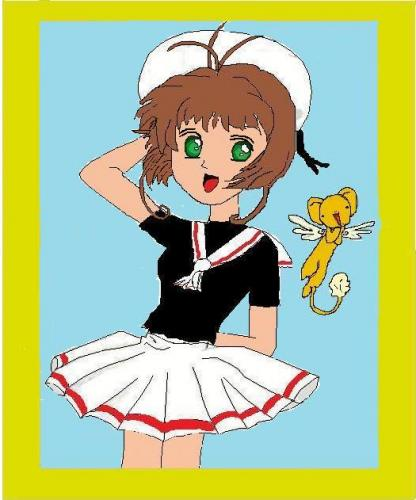 Card Captor Sakura (I'm trying a new drawing style)