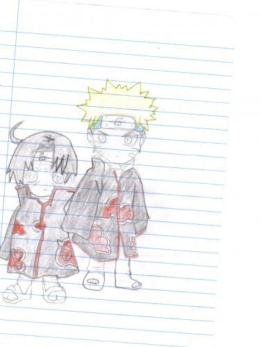 naruto and itachi