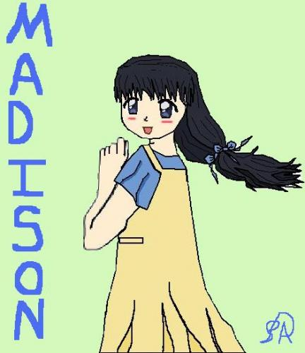 Madison from Cardcaptor Sakura