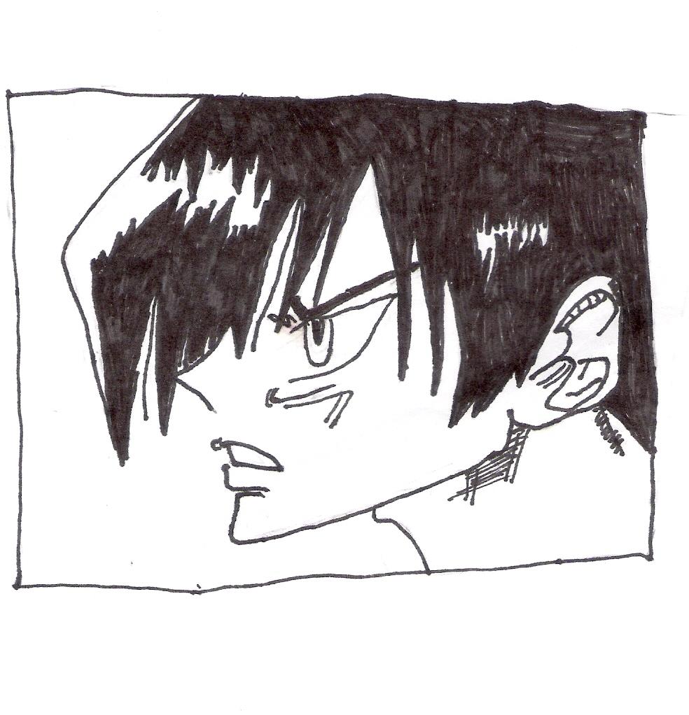 Some Shamen king guy i drew.