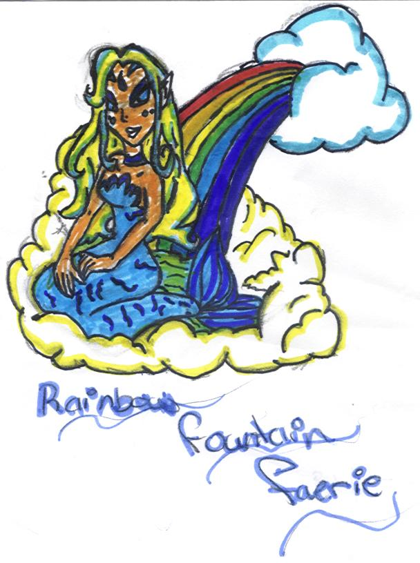 Rainbow Water Faerie - Picture By Pipso101