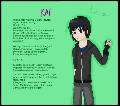 Kai Naruto character. :D