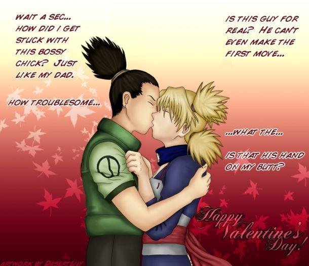 temari and shikamaru kissing - picture by Chidori-Barrage ...