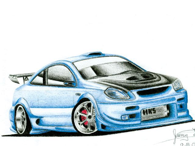 Top Speedi Car Drawings