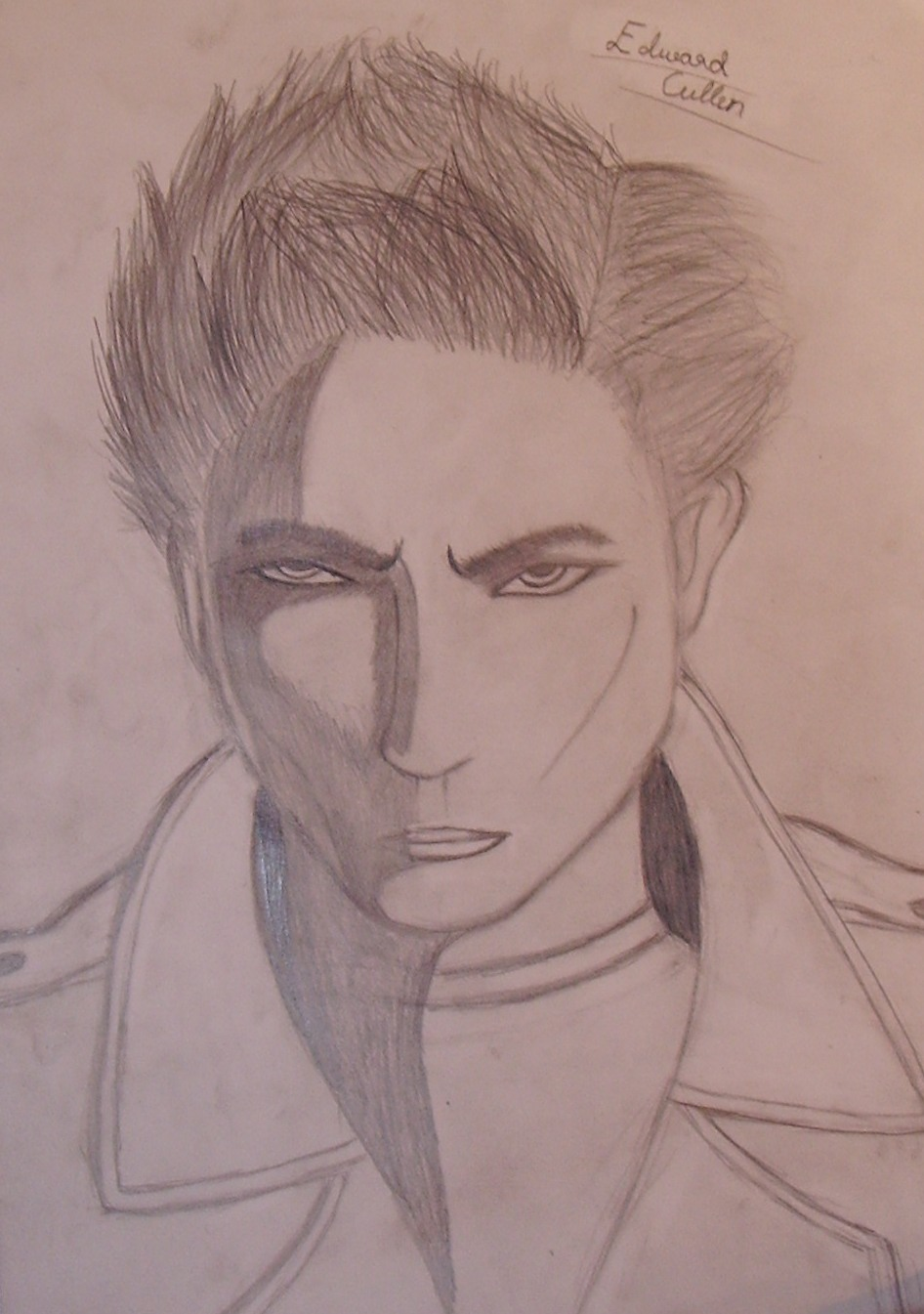 Edward Cullen Picture By Gertu Drawingnow