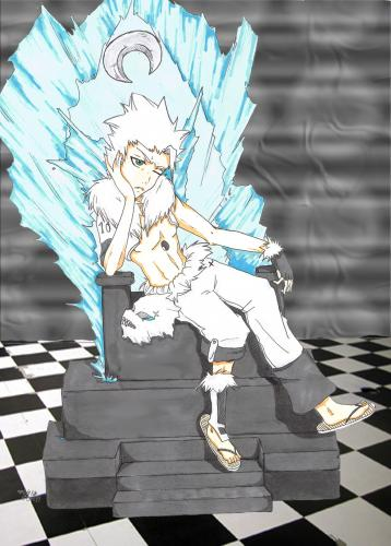 arrancar captain  hitsugaya toshiro - picture by sillywq