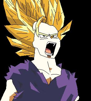 Teen Gohan Ssj1 Picture By Betzold Drawingnow