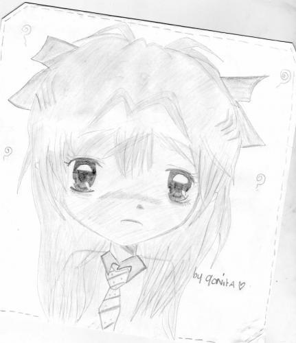 Sad Girl ~~ by me xD