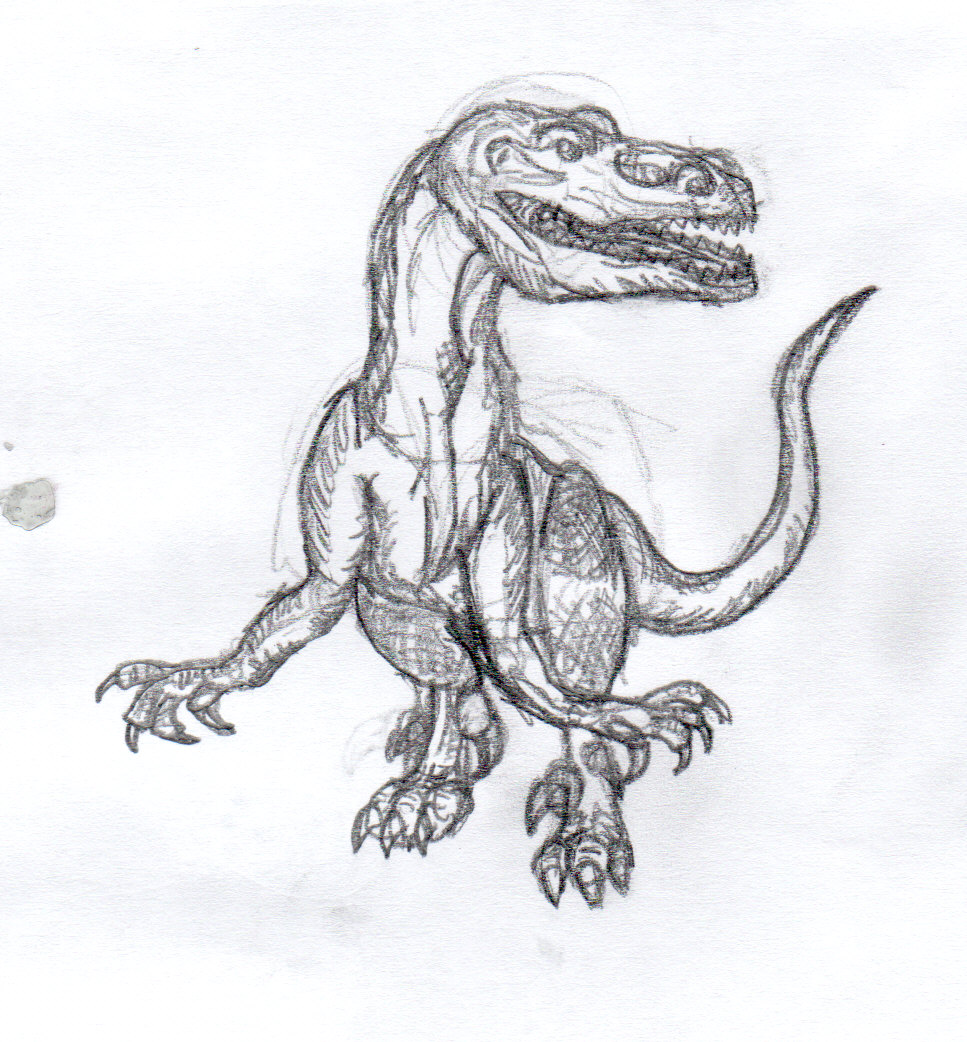 Dinosaur- Carnivore - picture by xennaxa | DrawingNow