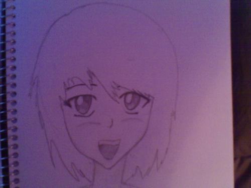 Laughing Japanese Anime Girl