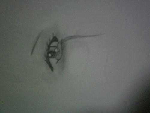 an eye crying TT~TT