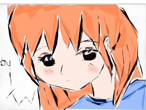 Cute Girl - Drawingnow.com