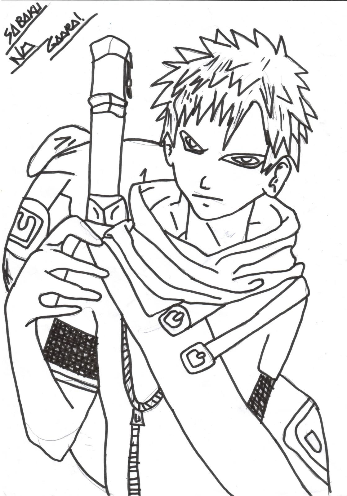 Free Coloring Pages Of Anime Korea