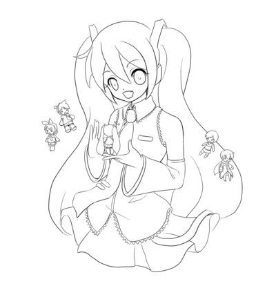 Vocaloid Kaito Coloring Pages Coloring Pages Vocaloid Coloring Pages