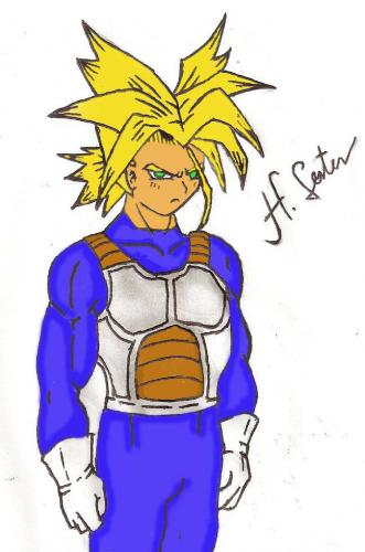 Trunks Super Saiyan Drawings. Trunks Super Saiyan