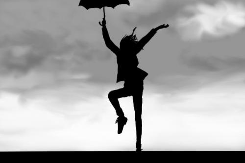 dancing in the rain picture by morningshadow drawingnow