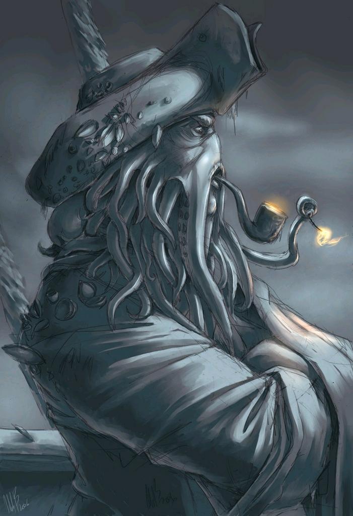 Davy Jones Picture By Gaarazilla Drawingnow