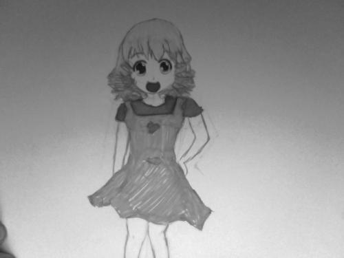 Cute anime/manga girl
