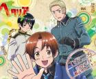Hetalia Axis Power <3