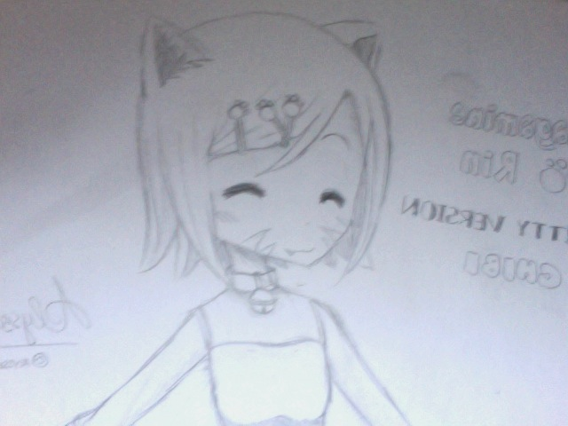 Kagamine Rin - Kitty Version