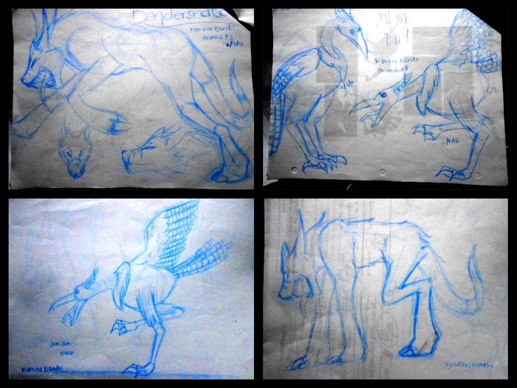 Jabberwocky Sketches