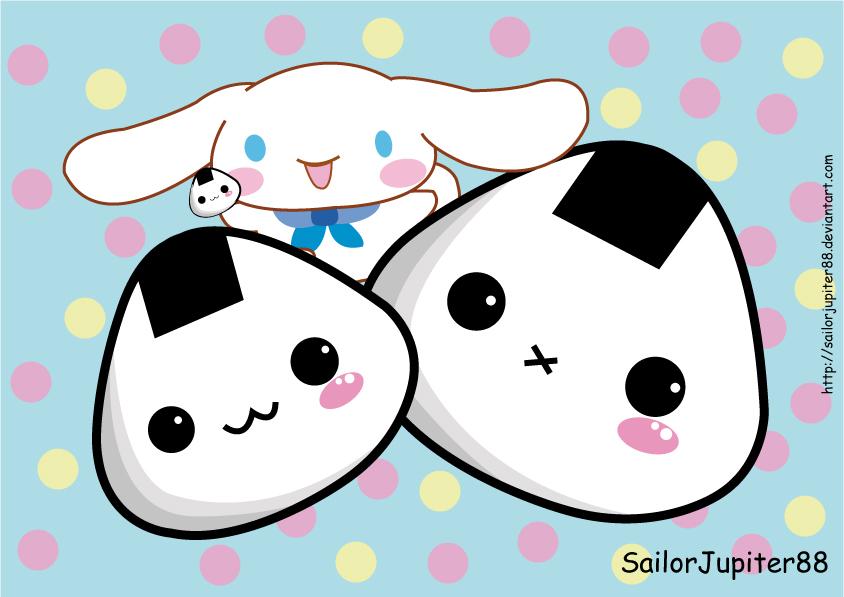 cinnamorol_and_onigiri_by_sailorjupiter88