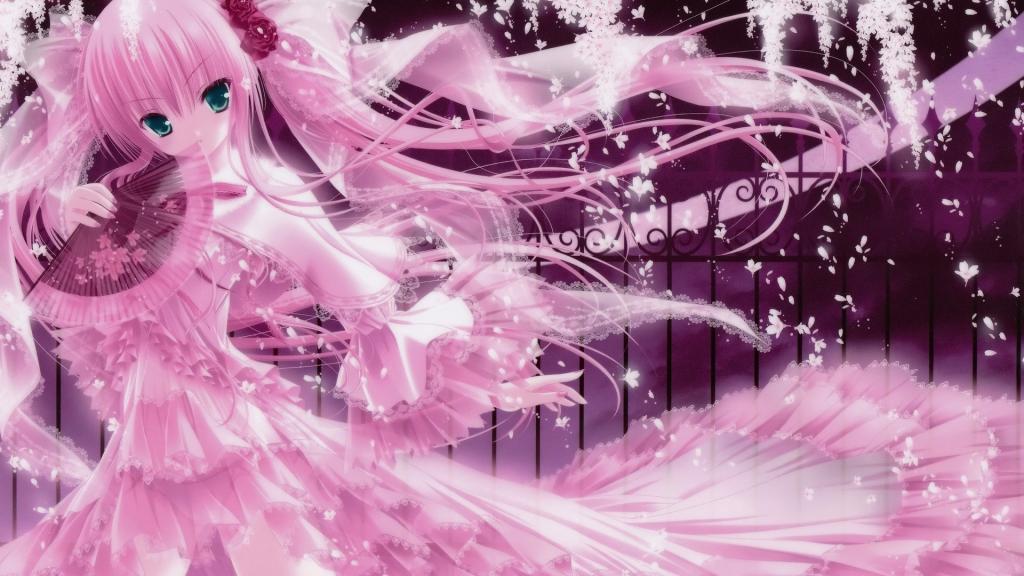 Pink Artwork Tinkle Illustrations Anime Girls Fresh New