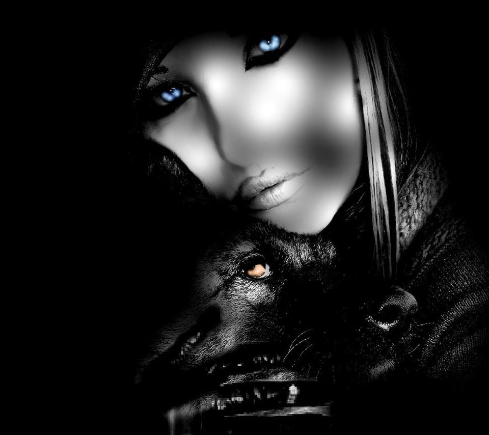 Wolves Girls And Wolf Girl: Faolon-Wolf-Cub (Alexa - Wolf Guardian)