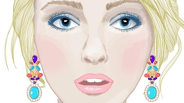 blueeyesfashionillustrationcrecrefillebellemode