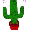 Cactus Cat Girl