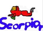 How to Draw Scorpion from Bakugan