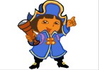 How to Draw Dora the Pirate