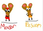 How To Draw Mouser And Resuom