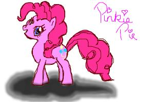 How to Draw Sketch (And Coloured) Pinkie Pie