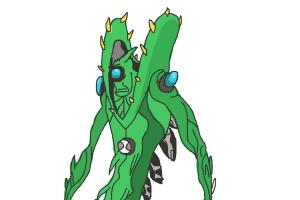 How to Draw Wildvine from Ben 10